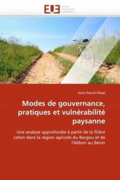 Modes de gouvernance, pratiques et vulnérabilité paysanne
