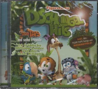 Tigerstarke Dschungelhits - Tiger Taps und seine Freunde