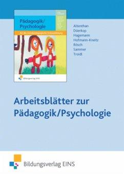 Arbeitsblätter zur Pädagogik/Psychologie, CD-ROM