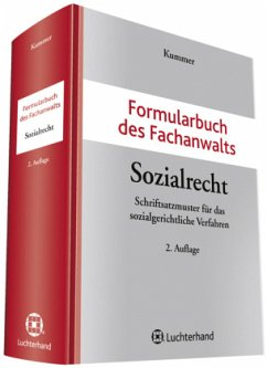 Formularbuch des Fachanwalts Sozialrecht - Kummer, Peter