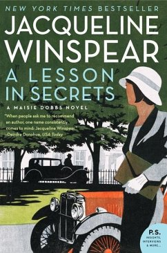 A Lesson in Secrets - Winspear, Jacqueline