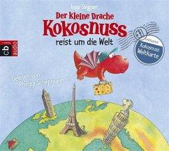 Der kleine Drache Kokosnuss reist um die Welt / Ein Vorlese Bilderbuch Bd.3 (2 Audio-CDs) - Siegner, Ingo