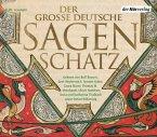 Der große deutsche Sagenschatz, 6 Audio-CDs