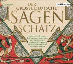 Der große deutsche Sagenschatz, 6 Audio-CDs - Bechstein, Ludwig; Brüder Grimm