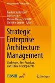 Strategic Enterprise Architecture Management