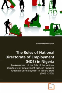 The Roles of National Directorate of Employment (NDE) in Nigeria - Amupitan, Oboromeni