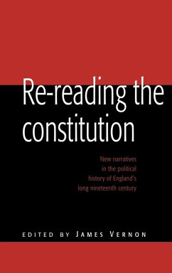 Re-Reading the Constitution - Vernon, James (ed.)