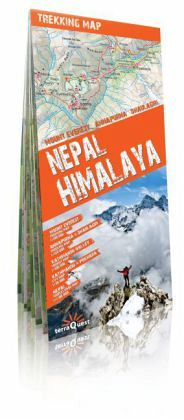 Trekking Map Nepal Himalaya