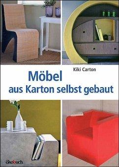 m bel aus karton selbst gebaut von kiki carton buch b. Black Bedroom Furniture Sets. Home Design Ideas