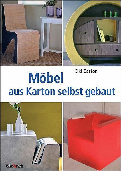m bel aus karton selbst gebaut von kiki carton buch. Black Bedroom Furniture Sets. Home Design Ideas