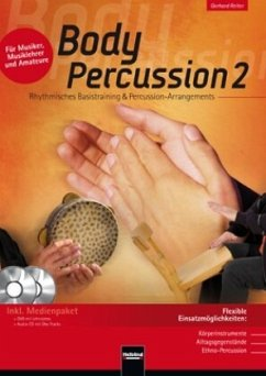 Body Percussion, m. Audio-CD + DVD