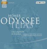 Odyssee & Ilias, 2 MP3-CDs