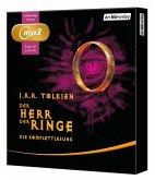 Der Herr der Ringe. Die Komplettlesung, 6 MP3-CDs