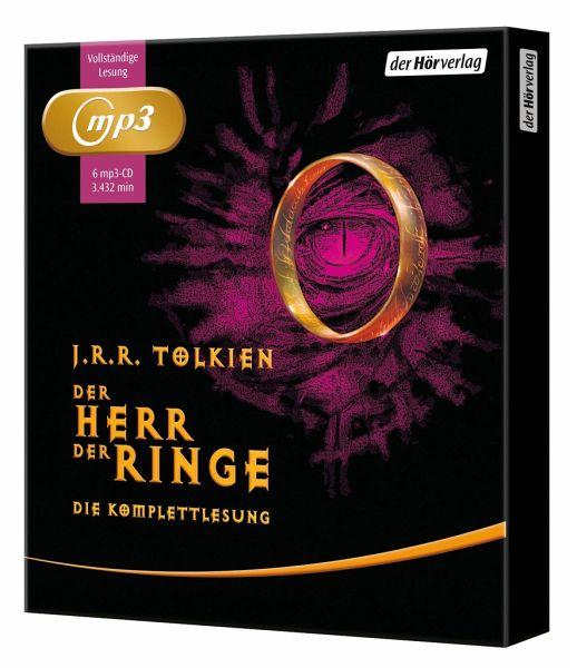 Der Herr der Ringe. Die Komplettlesung, 6 MP3-CDs - Tolkien, John R. R.