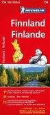 Michelin Karte Finnland; Finlande