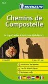 Michelin Karte Chemins de Compostelle