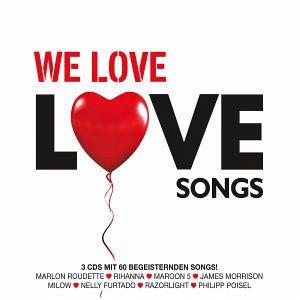 We Love Lovesongs, 3 Audio-CDs - Diverse