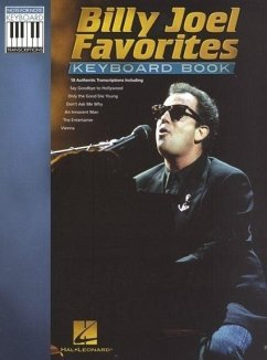 Billy Joel Favorites - Keyboard Book