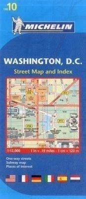Michelin Washington DC Map 10 von M i c h e l i n - Landkarten ...