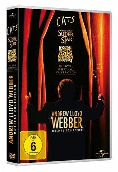 Andrew Lloyd Webber - Musical Collection DVD-Box - Elaine Paige,Sir John Mills,Glenn Carter