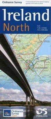 Travel Map Ireland North 1 : 250 000