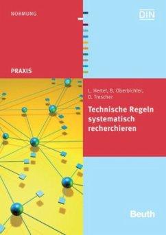 Technische Regeln systematisch recherchieren