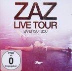 Zaz Live Tour - Sans Tsu Tsou, 1 Audio-CD + DVD