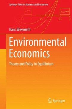 Environmental Economics - Wiesmeth, Hans