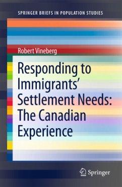 Responding to Immigrants' Settlement Needs: The Canadian Experience - Vineberg, Robert