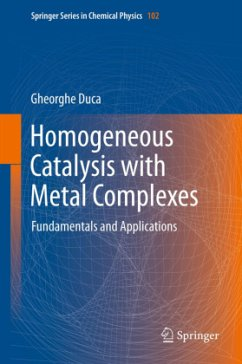 Homogeneous Catalysis with Metal Complexes - Duca, Gheorghe