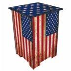 Photo-Hocker Flagge USA