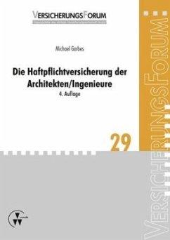 Die Haftpflichtversicherung der Architekten/Ing...