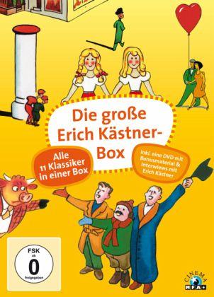 Die gro e erich k stner box 12 discs film auf dvd for Koch karlstadt