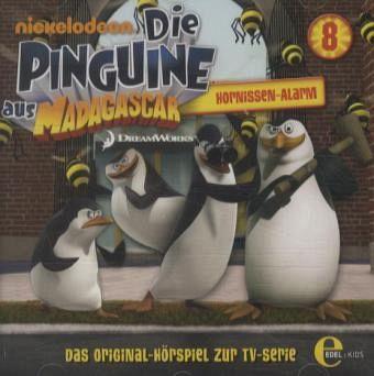 Die Pinguine aus Madagascar - Hornissen Alarm, 1 Audio-CD