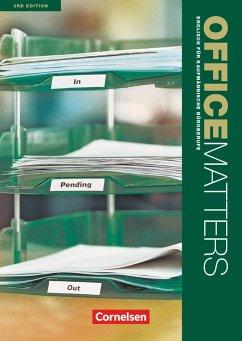 Office Matters A2-Mitte B1. Schülerbuch - Williams, Isobel E.