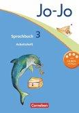 Jo-Jo Sprachbuch - Aktuelle allgemeine Ausgabe. 3. Schuljahr - Arbeitsheft