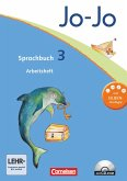 Jo-Jo Sprachbuch - Aktuelle allgemeine Ausgabe. 3. Schuljahr - Arbeitsheft mit CD-ROM