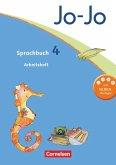 Jo-Jo Sprachbuch - Aktuelle allgemeine Ausgabe. 4. Schuljahr - Arbeitsheft