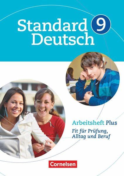 Standard Deutsch 9. Schuljahr. Arbeitsheft Plus