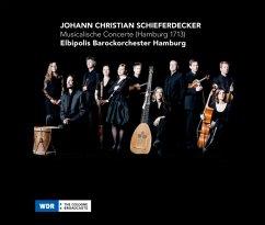 Musicalische Concerte (Hamburg 1713) - Elbipolis Barockorchester Hamburg