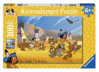 Ravensburger 10626 - Yakari hat Spaß, 100 Teile Puzzle