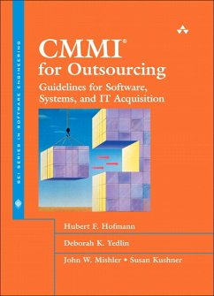 Cmmi(r) for Outsourcing: Guidelines for Software, Systems, and It Acquisition