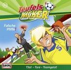 Falsche Pfiffe! / Teufelskicker Hörspiel Bd.33 (1 Audio-CD)