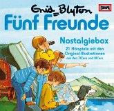 Fünf Freunde - Nostalgiebox, 21 Audio-CDs