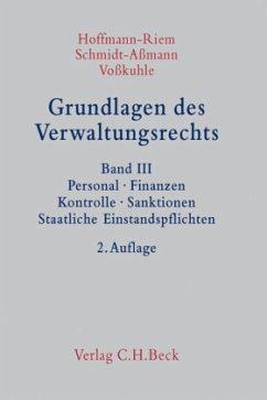 Grundlagen des Verwaltungsrechts Band 3: Person...