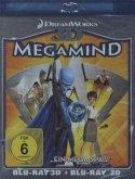 Megamind (Blu-ray 3D, + Blu-ray 2D)