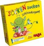 Socken Zocken Schleudergang (Kinderspiel)