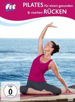 Fit For Fun - Pilates für einen gesunden und starken Rücken - von und mit Anette Alvaredo - Alvaredo,Anette/Hellwig,Silke