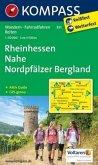 Kompass Karte Rheinhessen, Nahe, Nordpfälzer Bergland