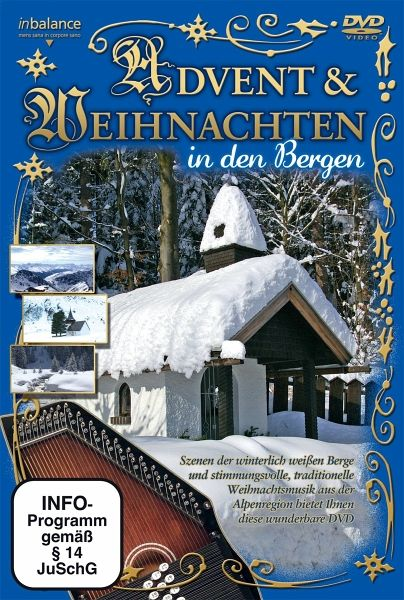 various artists advent weihnachten in den bergen. Black Bedroom Furniture Sets. Home Design Ideas